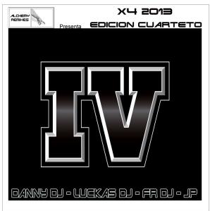 Alchelmy Remixes - X4 Edicion Cuarteto (2013)